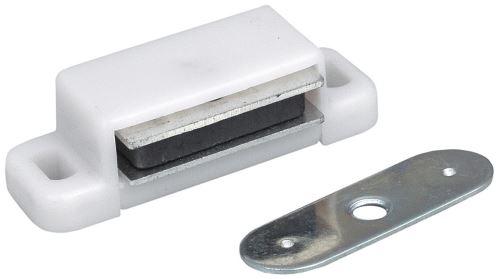 Magnetická sklapka - Bílá