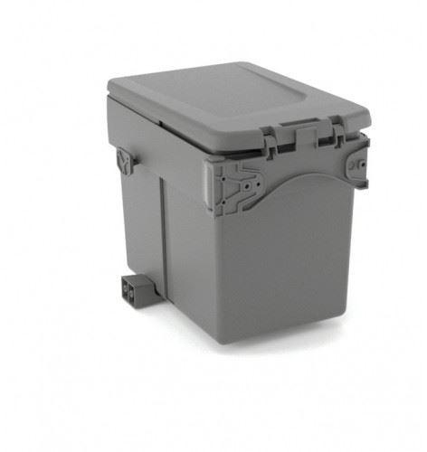 Odpadkový koš Single DUMPSTER 15L - Antracit (pravolevý) od skř.450mm