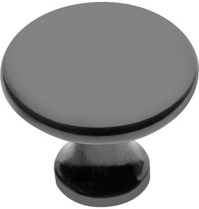 Úchytka knop UDINE - černá mat