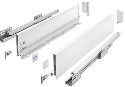 AXIS Pro 400mm bílý - střední B (výška 120 mm)