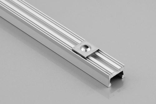 Lišta LED naložená RADIATOR GLAX 2m + kr.mléčná