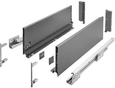 AXIS Pro 550mm antracit - vysoký C (výška 168 mm)