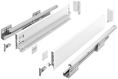AXIS Pro 400mm bílý - nízký A (výška 86mm)