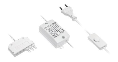 Napájení LED TORINO 6W 350mA pro 44894 vč. kabeláže a vypínače výprodej