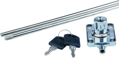 Zámek rozvorový GTV 97x40x6,4mm + 2x táhlo 1000mm