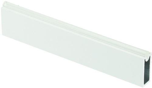 Šatní tyč hranatá bílá 12x33x3000 s těsněním
