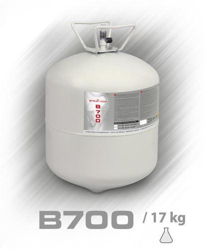 Kontaktní lepidlo SPRAY-KON  B700 Clear 17kg tlak. nádoba