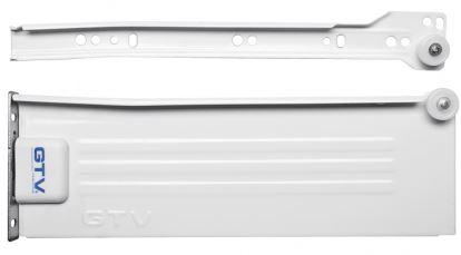 Metalbox PRESTIGE GTV 550mm/150mm bílý
