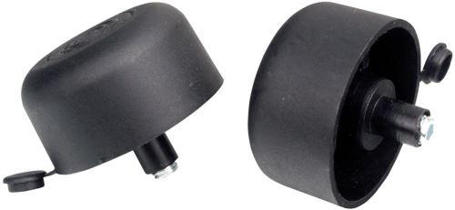 Kluzák podnože s rektifikací M50x27 - Černá