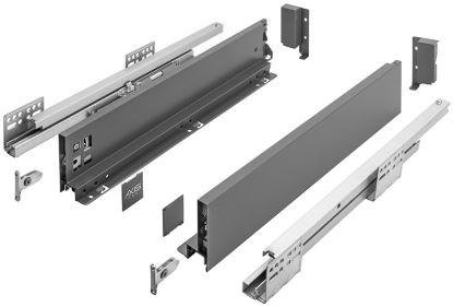 AXIS Pro 350mm antracit - nízký A (výška 86mm)