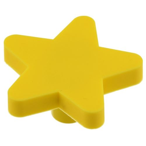 Úchytka dětská - hvezdička žlutá