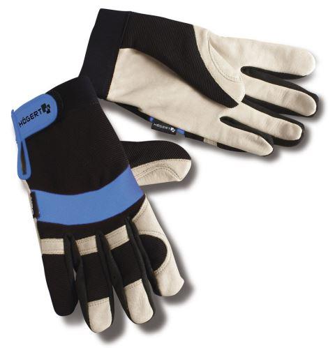 """Hoegert pracovní rukavice kožené 10"""" HT5K216"""