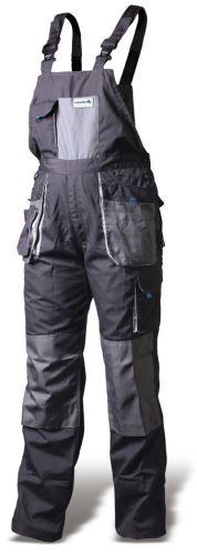 Hoegert pracovní kalhoty s laclem vel. M (50) HT5K270-M