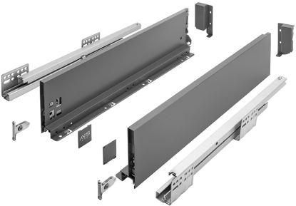 AXIS Pro 450mm antracit - střední B (výška 120 mm)