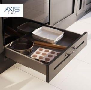 AXIS Pro 500mm antracit - nízký pod troubu (výška 69mm)