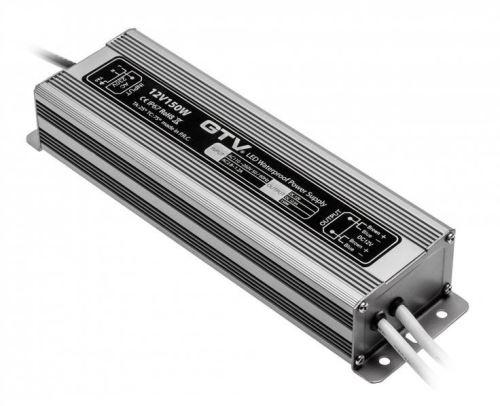 Napájení LED 12V 150W IP 67 GTV VODĚODOLNÉ Al pouzdro