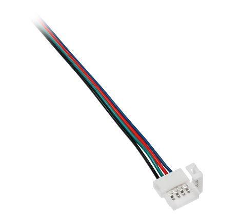 Spojka k LED pásku RGB + kabel 2m výprodej