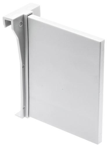 MB modern box SQ - přepážka příč.lišty - bílá