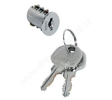 Vložka HAFELE SYMO HS3 - Nikl stejný klíč - 0001