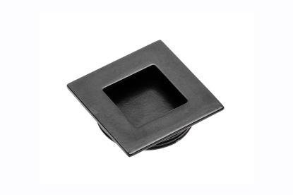 Úchytka zadlabací B226 - černá 40x40mm (pr.otv.35mm)