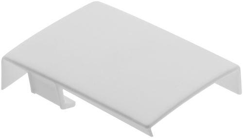 Krytky pro rektifikační závěs STRONG - bílá (pár)